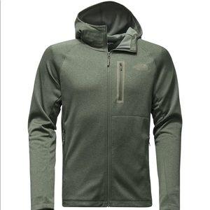 The North Face full zip hooded sweatshirt